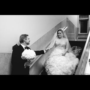 Lazaro Wedding Dress Retail $5600